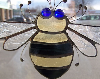 Bumble Bee: sun catcher
