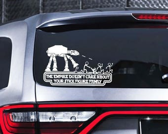 Stick Figure Decal Etsy - Family decal stickers for carscar truck van vehicle window family figures vinyl decal sticker