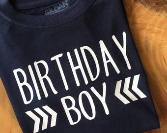 Birthday Shirt, Birthday Boy Shirt, Boy's Birthday Shirt, Boy's Bday Shirt, Bday Shirt, Shirt for Boy's Birthday, Birthday shirt for Him