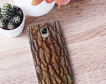 Case for OnePlus 6, OnePlus 2, OnePlus 5t, wood texture, OnePlus 3t, bark OnePlus case, OnePlus 5 case, wood OnePlus case, OnePlus X, wood