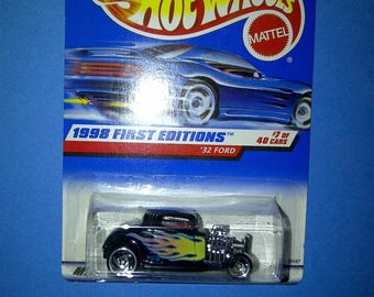 Hot Wheels #636 1932 Ford new on card