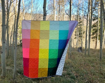 Rainbow Quilt Kit