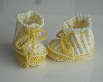 Baby shoes - baby shoes - booties - SL 7 cm - Babyshoes - wool shoes