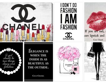 Chanel Sassy Planner Stickers