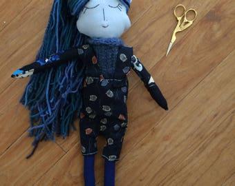 Atlantis Cloth Art Doll