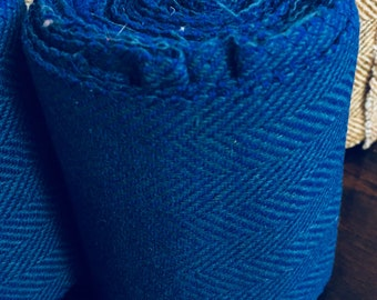Child Winingas or Arm wraps - Viking - Norse - Anglo-Saxon Leg Wraps royal blue
