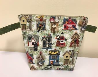 Birdhouses medium bag