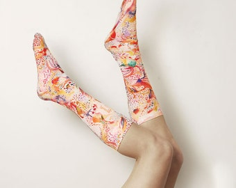Watercolour Painting Stockings