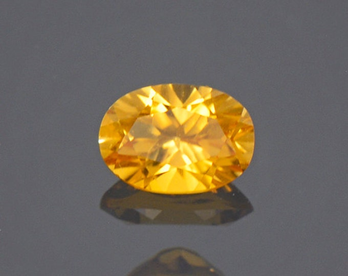 Bright Yellow Sunset Tourmaline Gemstone from Tanzania 0.63 cts.