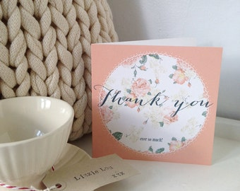 Thank you card - ideal for all occasions