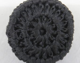 Black Tulle Scrubbies, Crochet Pot Scrubbers, Cast Iron Scrubber, Nylon Pot Scrubber, Scrubbie pad, Kitchen scrubbies, Bathroom utility