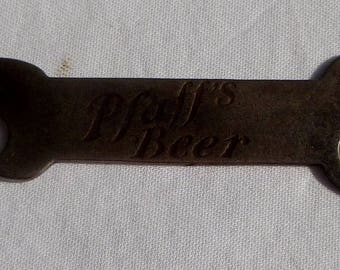 antique victorian pfaff's beer opener