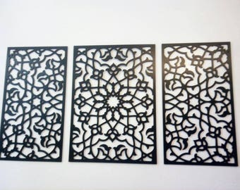 Moroccan wall decor
