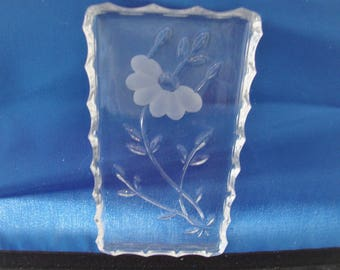 Etched Relish Tray