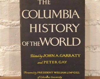 """Vintage Book - """"The Columbia History of the World"""""""