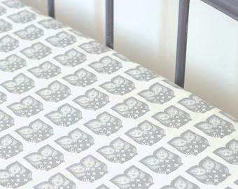 Crib Sheets Boy Fitted Crib Sheet Owl Crib Sheets Neutral Fitted Crib Sheet Play Yard Sheet Pack n Play Sheet Fitted Crib Sheet Boy