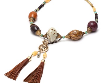 Eris Tassel Necklace