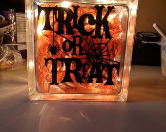 Trick or Treat block