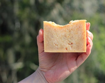 Vanilla Oats and Shea Butter Soap, Shea Butter Soap, Vanilla Soap, 100% Natural, Handmade Soap, Natural Soap, Anti Aging, Handcrafted, Soap