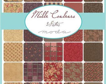 Mille Couleurs by 3 Sisters for Moda Charm Pack