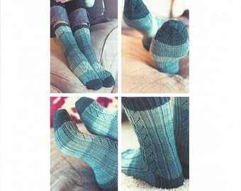 Hele Sock Knitting Pattern by Tabetha Hedrick of SweetGeorgia Yarns knitting pattern perfect for Party of Five mini skeins