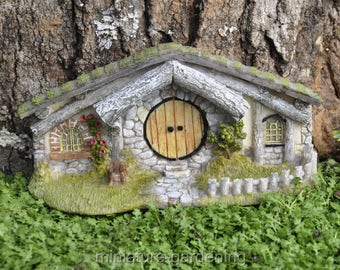 Oak Alley Hidden Home for Miniature Garden, Fairy Garden