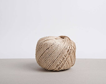 Natural 2-Ply, Sisal Twine - Coil with 245 meters or 268 yards