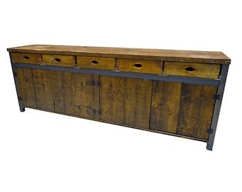 Reclaimed Barnwood Sideboard