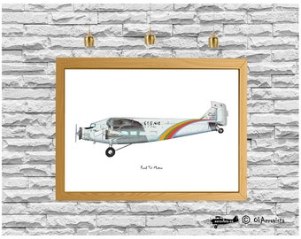 Nursery decor aviation digital print, Ford Tri Motor, images old aircrafts, instant poster art, 1920s old airplanes, boy kid room decor, air