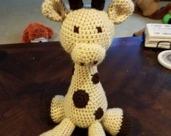 Crochet Plush Giraffe