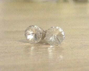Swarovski® crystal stud earrings, Real silver studs,Crystal stud earrings, Crystal earrings, Jewellery gift, Wedding gift, Bridesmaid gift