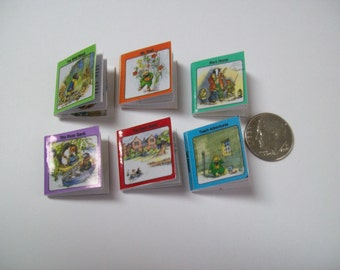 Miniature Wind in the Willows book set includes 6 different stories with pictures and text.