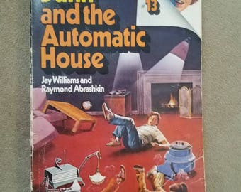 Danny Dunn and the Automatic House Paperback 1970s