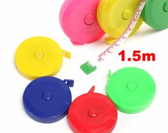 1.5 meter retractable tape measure