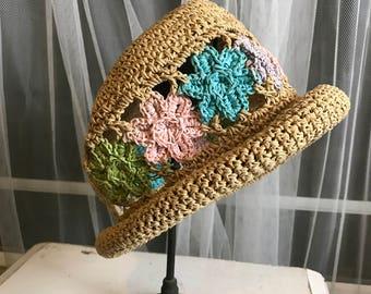 Beautiful Spring Crochet Child's Hat