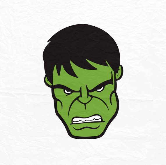 The incredible hulk face hulk face svg hulk face huk for Incredible hulk face template