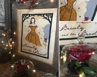 Beauty and the Beast : E-Pattern
