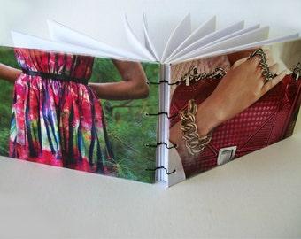 Mode et accessoires pour ordinateur portable à la main copte SketchbookJournal lié recyclé livre relié un un genre plat couvercle