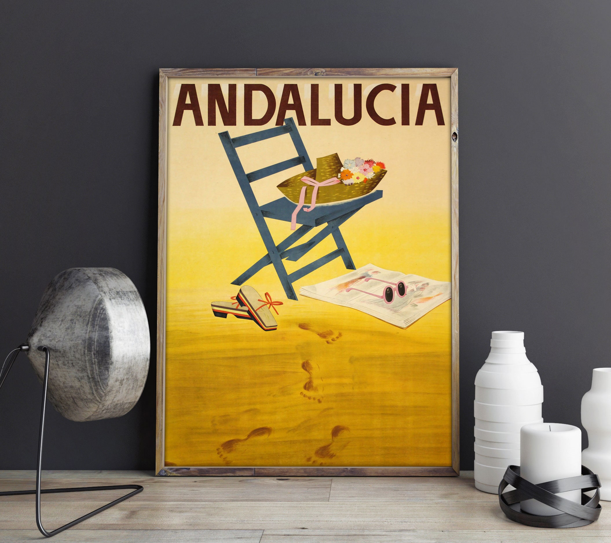 Andalucia Travel Print Travel Poster Travel Decor Spanish Travel ...