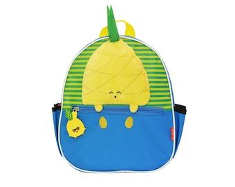 Pinky & Flo Safety Reflective Toddler Backback Pineapple