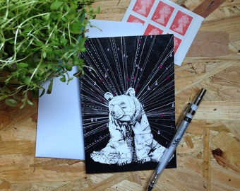 Couldn't Bear to Be Without You // Greetings Card - Blank