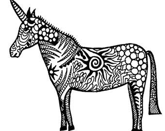 Unicorn Notecards