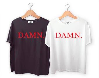 Kendrick Lamar DAMN T-Shirt, Original Art Tee, S M L XL