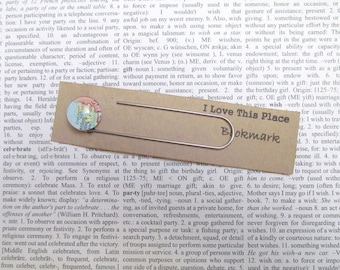 Netherlands map bookmark: page marker made with an original map. Gift idea for best friend, boyfriend, ,, s gift