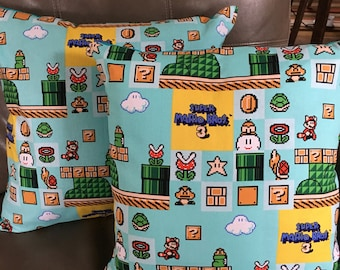 Super Mario Bros 3 Pillow Covers