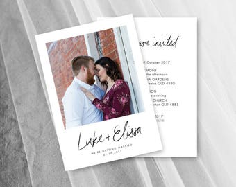 Wedding Invitation Template With Photo Wedding Invites Download Printable
