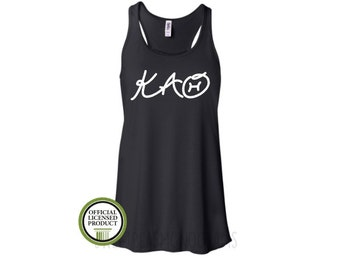 Kappa Alpha Theta Tank Top, Sorority Tank Top, Big Little Gift, Sorority Gift, Sorority Shirt, Licensed Greek, Theta