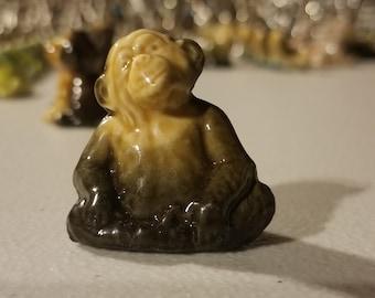 Wade of England/Red Rose Tea Figurine #027 - monkey  -vintage
