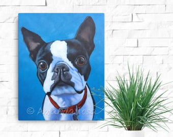 Pet Portrait Deposit | Pet Portrait in Acrylics | Custom Pet Portrait | Dog Portrait | Cat Portrait | Pet Memorial | Custom Pet Art