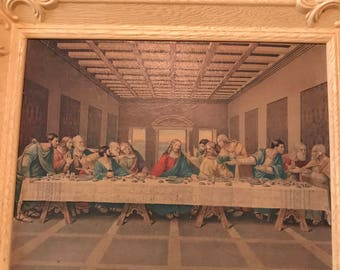The Last Supper Vintage print